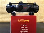 MILLETT TACTICAL RED DOT 1X24 SP-2  SCOPE 5 MOA